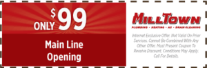 main line opening coupon