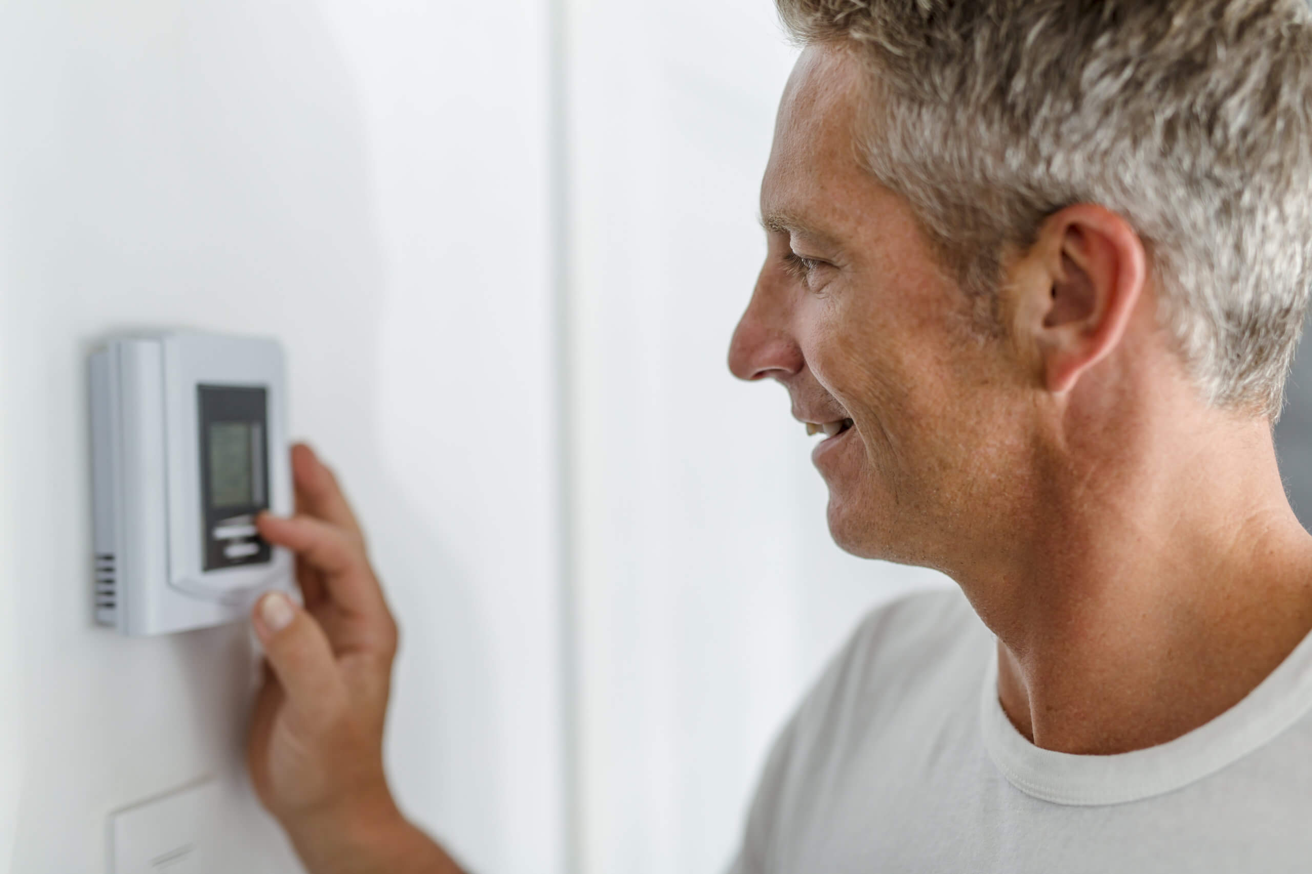 programmable thermostat by MillTown Plumbing